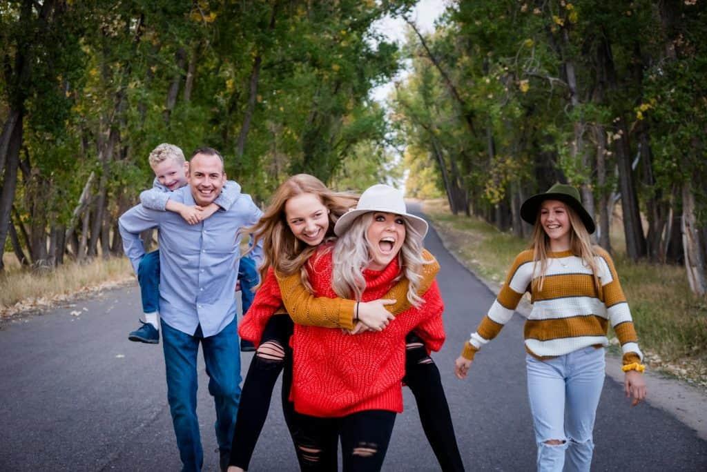 Colorado family has fun during their adventure lifestyle shoot
