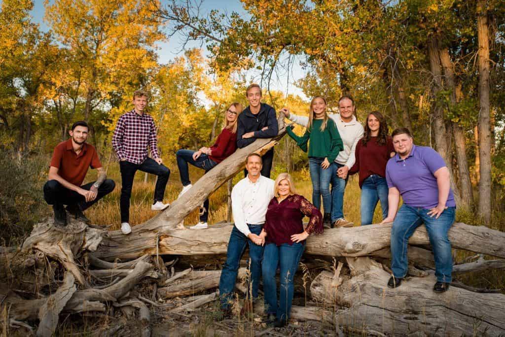 extended family photoshoot in Denver, Colorado